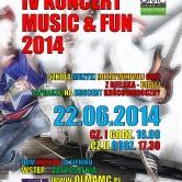 IV KONCERT MUSIC &FUN 2014