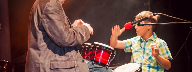 DRAM-DRAMLUDKI (od 5 lat) – nauka gry na perkusji