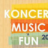 KONCERT MUSIC & FUN  2015
